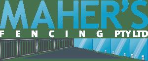 Mahersfencing Logo White