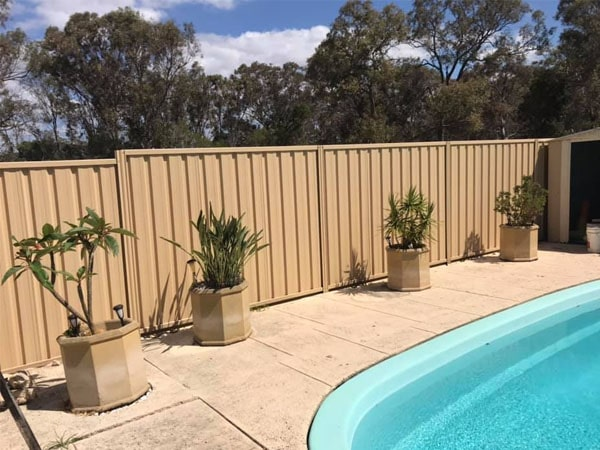 Colorbond Fence Perth